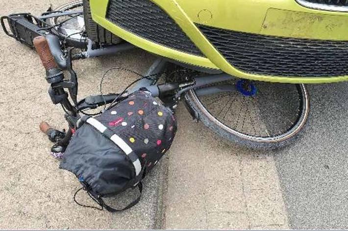 Unfall mit Radfahrerin in Rinteln