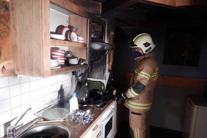 Alle Familienmitglieder blieben bei dem Brand unverletzt