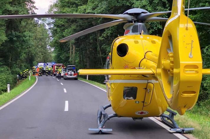 Schwerer Unfall in Steinberg-Rohrbach