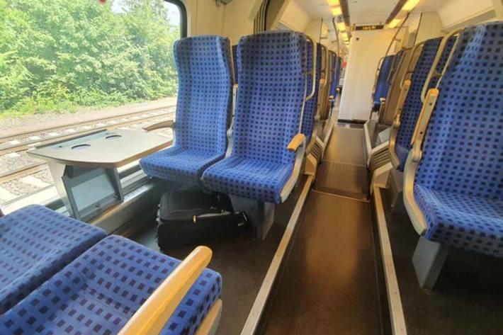 Der herrenlose Koffer im Regionalexpress Leipzig-Gommern