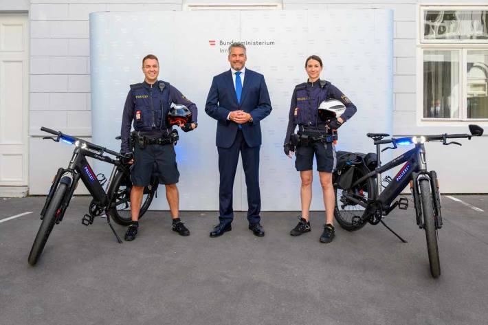 Eigener Fahrraddienst in der Landesverkehrsabteilung Wien