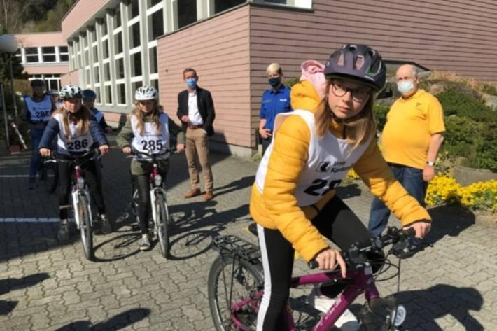 Die Schülerverkehrsprüfungen in Seedorf UR verliefen so.