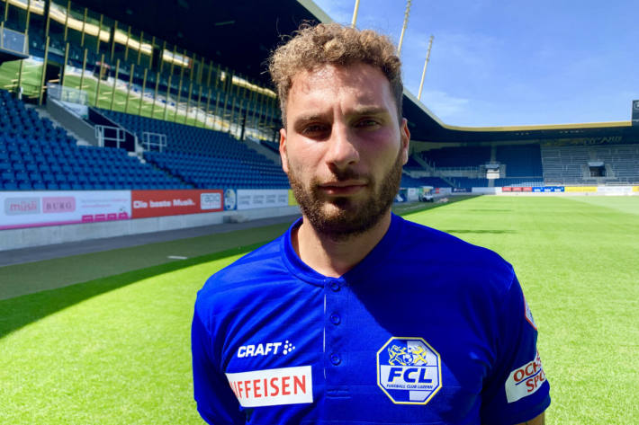 Francesco Margiotta verstärkt die FCL-Offensive.