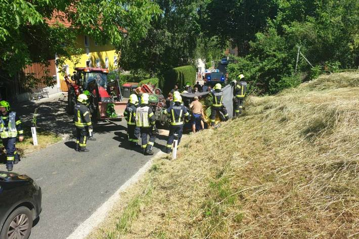 Unfall in St. Florian