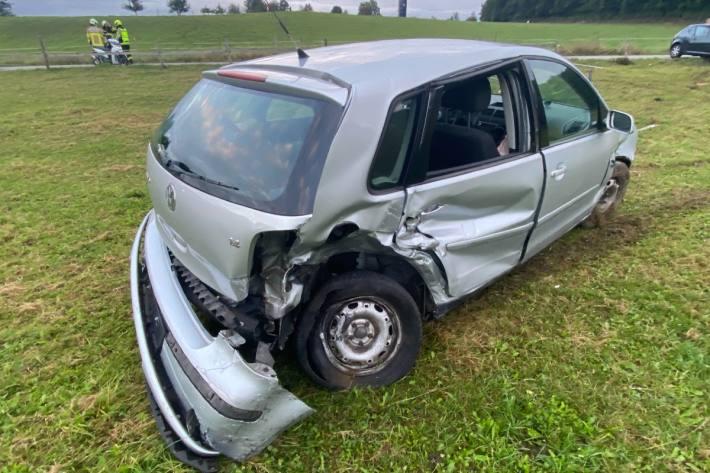 In Seon AG kam es heute zu einem heftigen Crash.