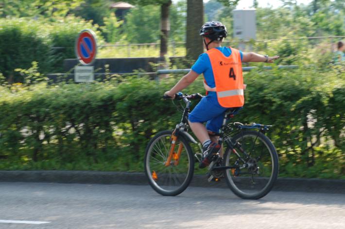 Die Verkehrsausbildung der Kinder geniesst einen hohen Stellenwert.