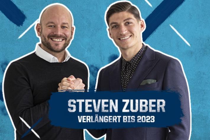 Steven Zuber verlängert in Hoffenheim.