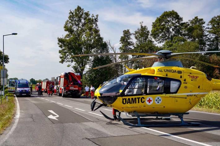 Schwerer Unfall in Fehring