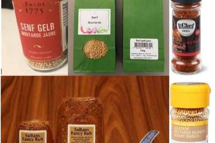 Das BLV empfiehlt, die Produkte nicht zu konsumieren