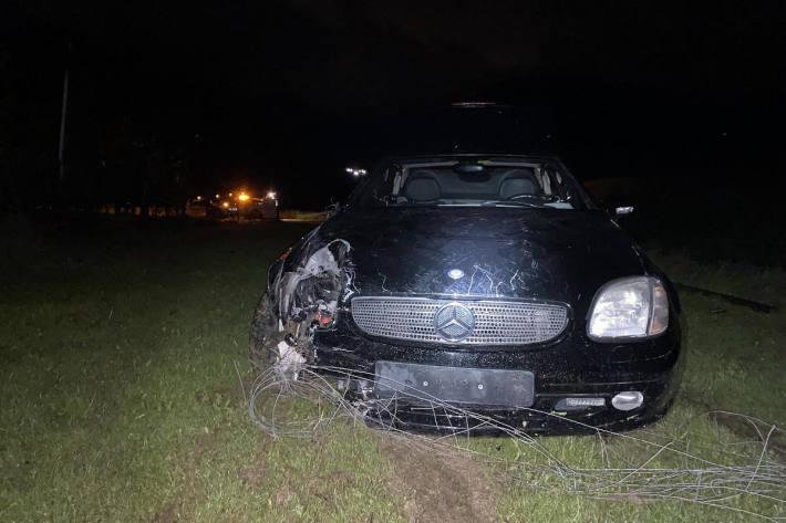 Alkoholisierter Personenwagenlenker verursacht Selbstunfall
