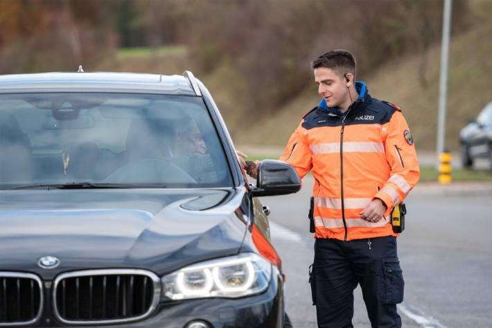 Regionale Polizeikontrollen in den Bezirken Affoltern und Andelfingen