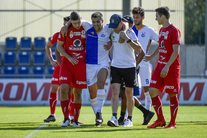 André Santos erleidet Bänderriss am Sprunggelenk