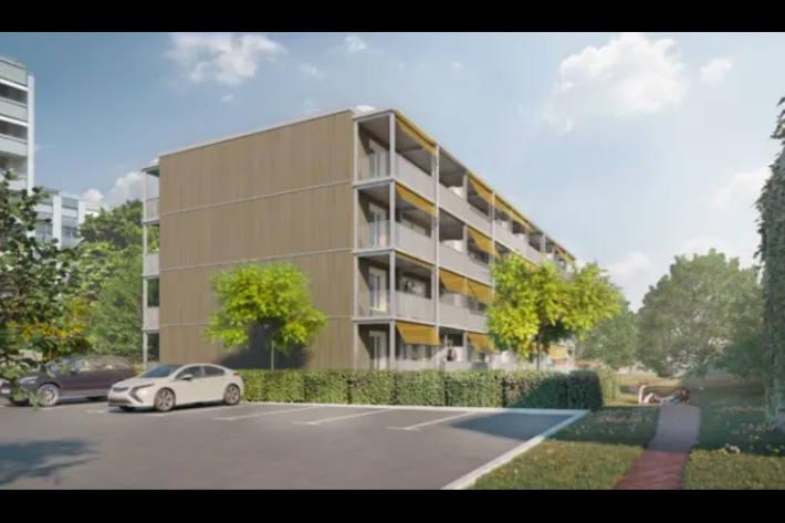So soll das neue Mehrfamilienhaus aussehen.
