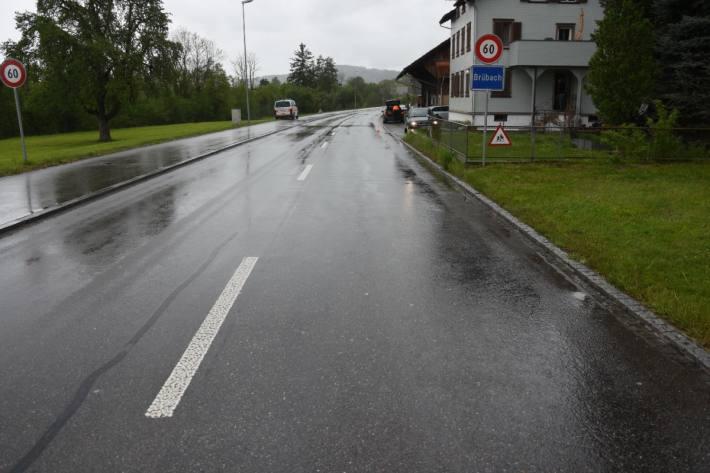 In Sonnental SG kam es gestern zu einem Unfall mit einem Kind.