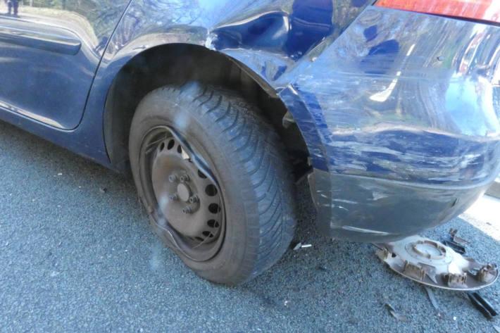 Verkehrsunfall infolge Unachtsamkeit mit hohem Sachschaden in Celle