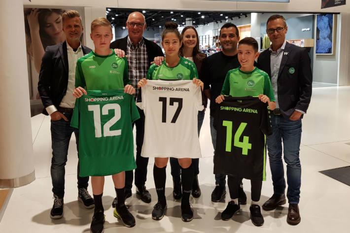 Trikot Sponsor beim FC St.Gallen.
