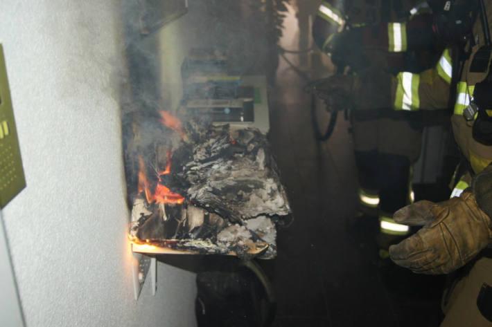 Brand in einer Wohnung