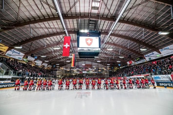Im November finden keine Spiele der Schweizer Eishockeynationalmannschaften statt.