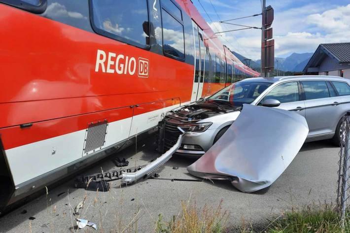 Unfall in Pflach