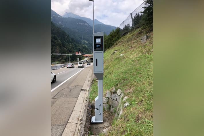 Geschwindigkeitsmessanlagen an der Autobahn werden ersetzt