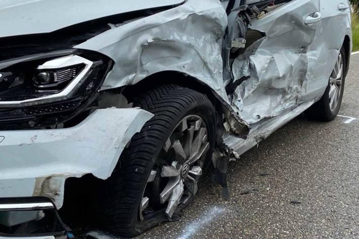 Unfallverursachendes Fahrzeug