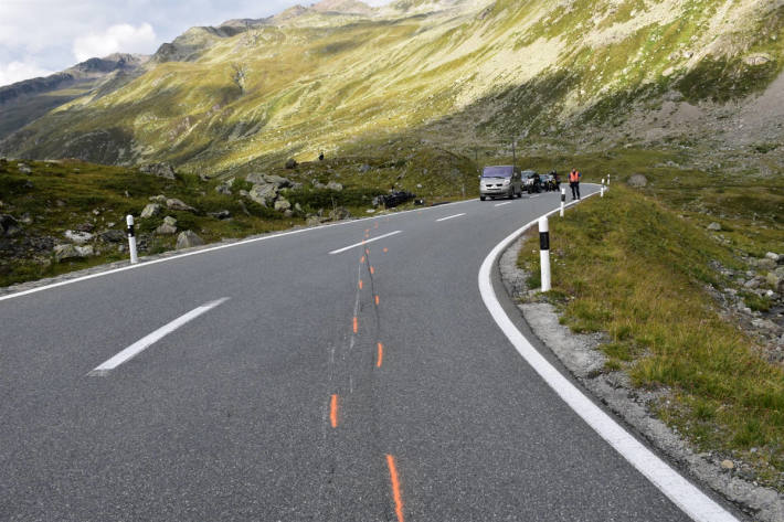Motorradfahrer bei Selbstunfall verletzt