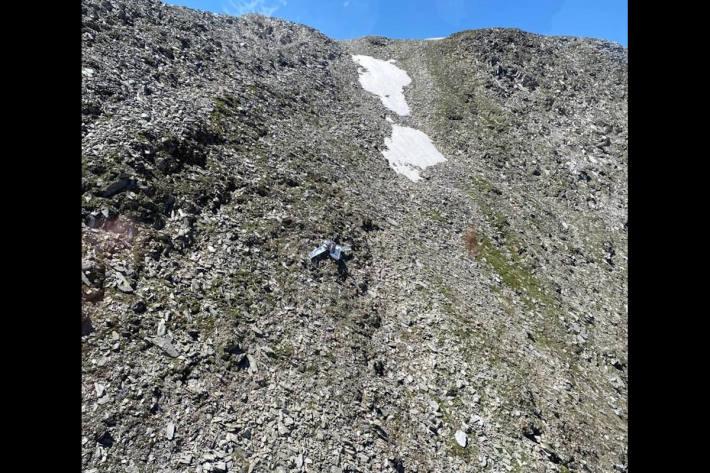 Kleinflugzeug bei Hospental abgestürzt - eine Person verstorben