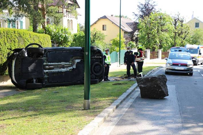 Unfall in Maria Enzersdorf
