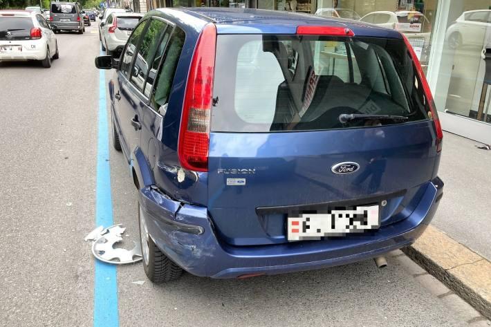 In Glarus kam es gestern zu einem Unfall.