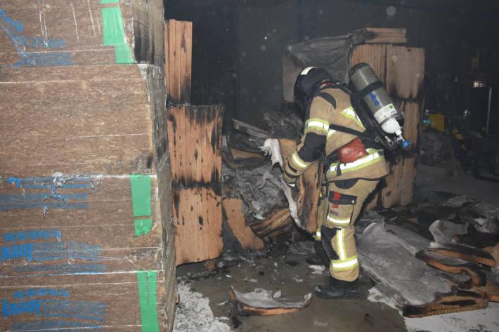 Mögliche Brandstiftung auf Baustelle in Rapperswil-Jona