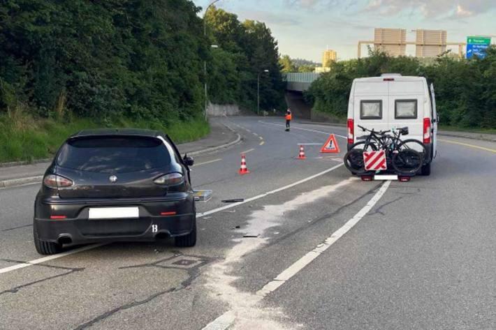 Personen wurden in Schaffhausen bei dieser Kollision keine verletzt
