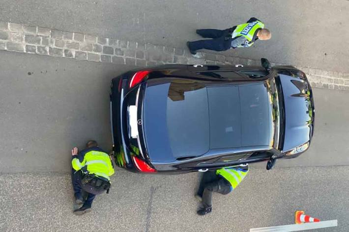 In Basel hatte die Kantonspolizei die Kontrolltätigkeit im Hafengebiet