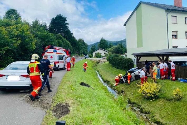 Schwerer Unfall in Krieglach