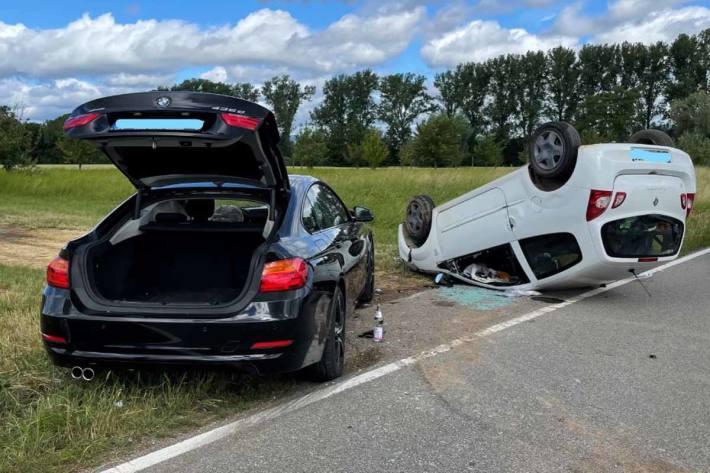 Schwerer Verkehrsunfall infolge Vorfahrtsmissachtung in Altdorf