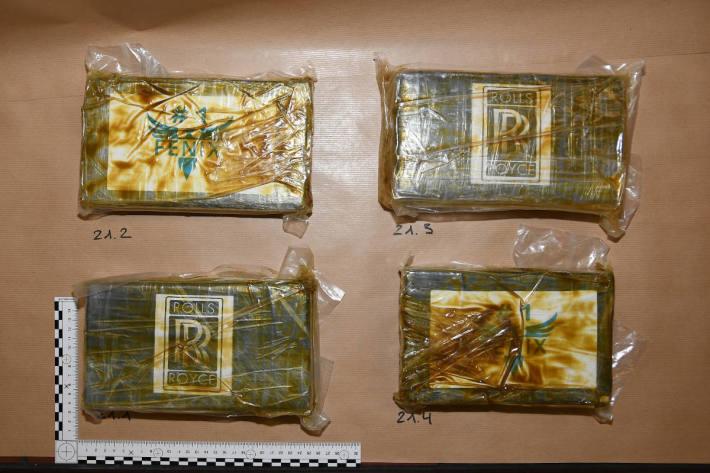 Kokain im Wert einer halben Million Franken sichergestellt