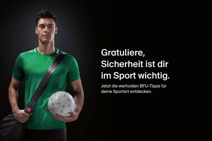 Sicherheit im Sport ist sehr wichtig.