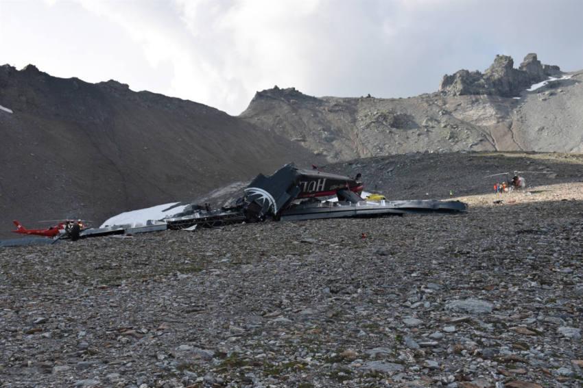 Flugzeugabsturz in der Schweiz: Alle Insassen der Junkers Ju-52 sind tot