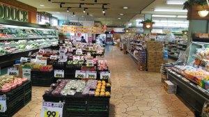 生鮮品は鮮度、価格を大事にしています