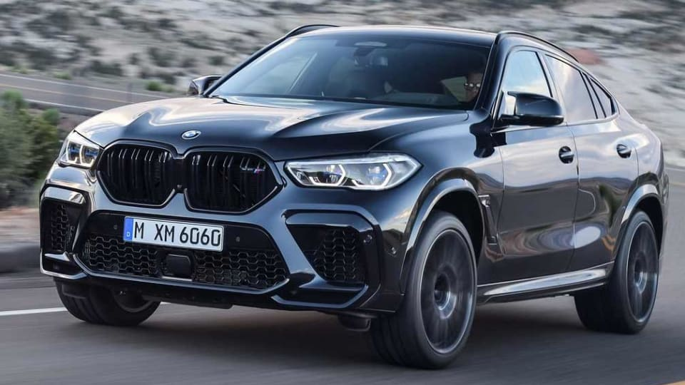 xDrive X6 M Competition First Ed 5dr Step Auto [2021]