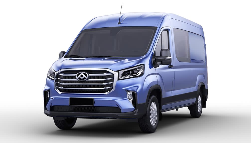 E MWB FWD 150kW Chassis Cab 65kWh Auto [2020]