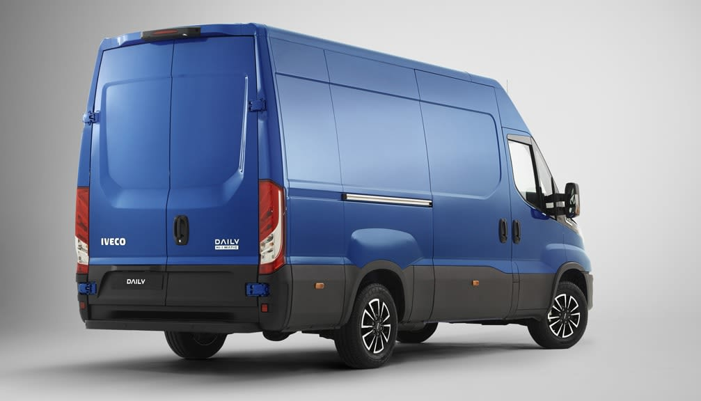 35S14 2.3 Extra High Roof Van 4100 WB Hi-Matic [2019]