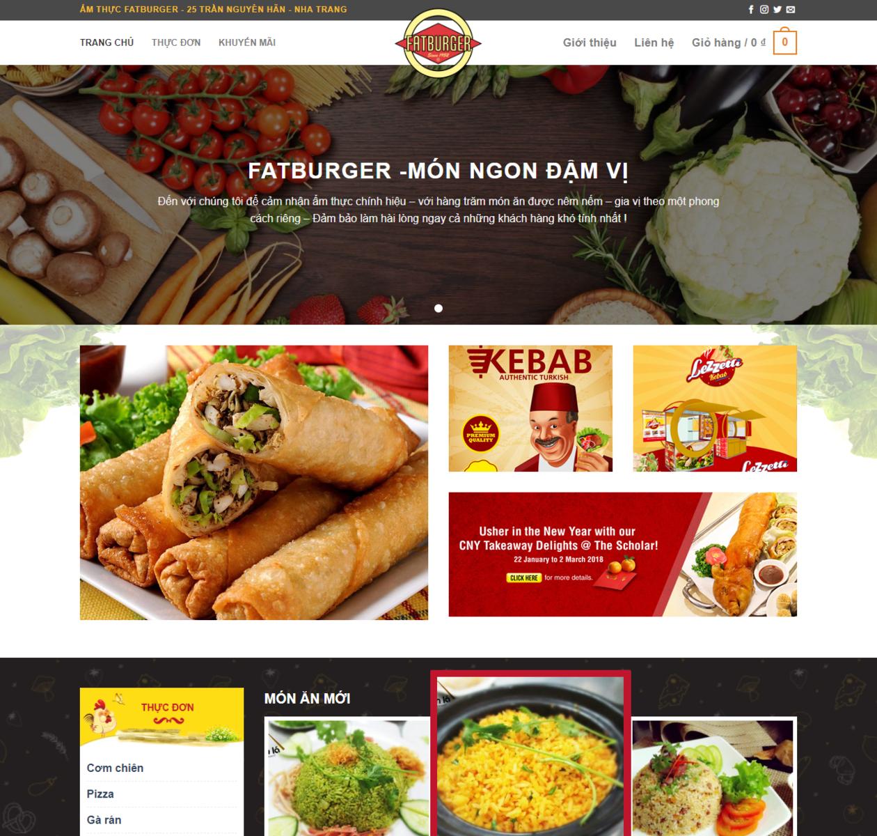 Thiết kế web nhà hàng Fatburger thumbnail