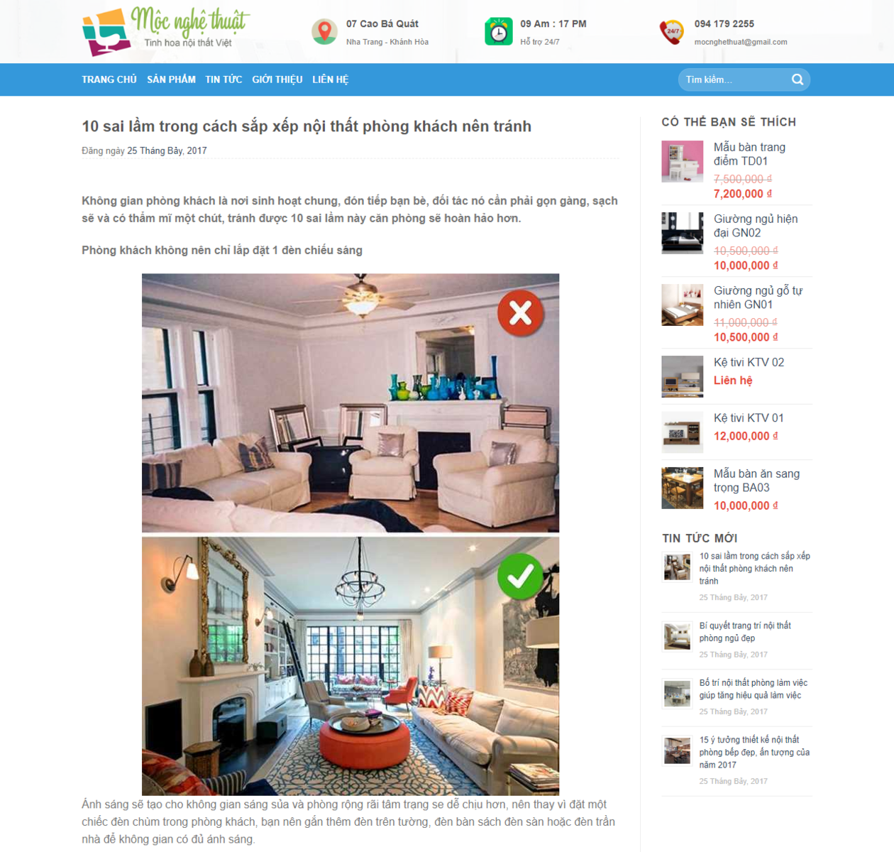 Mẫu website bán nội thất đẹp thumbnail
