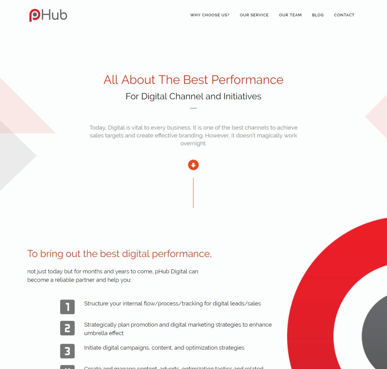 Thiết kế web phub.asia thumbnail