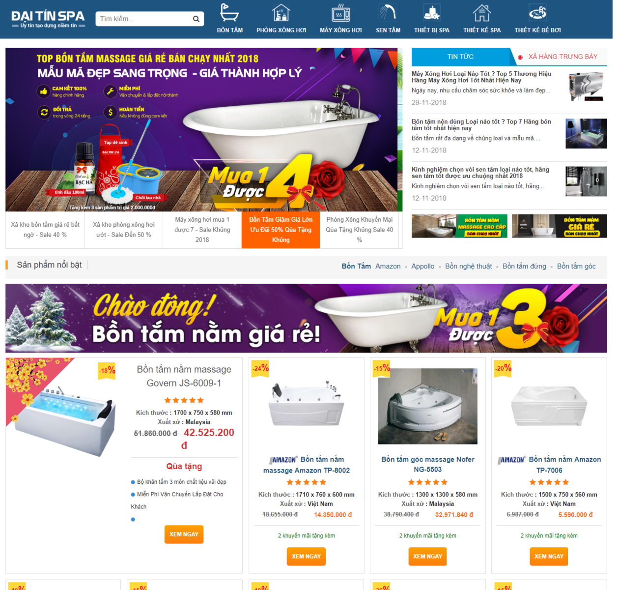 Mẫu web bán thiết bị vệ sinh thumbnail