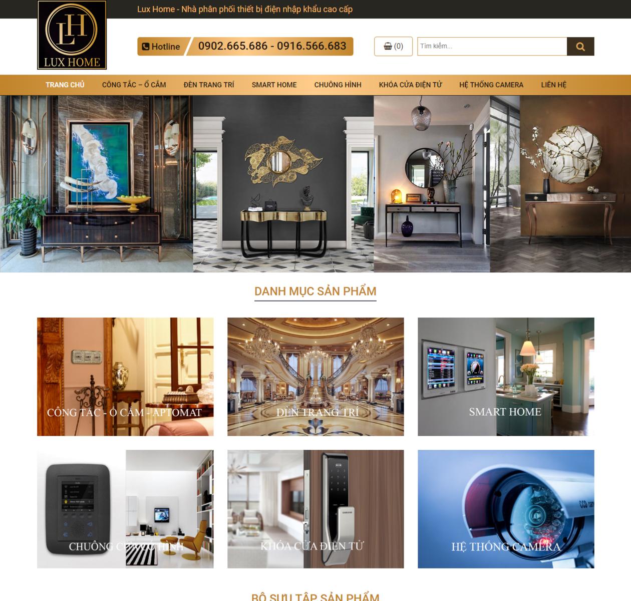 Thiết kế web thiết bị điện thumbnail