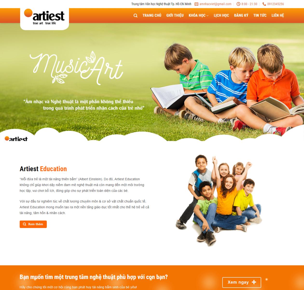Mẫu web giáo dục 2 thumbnail