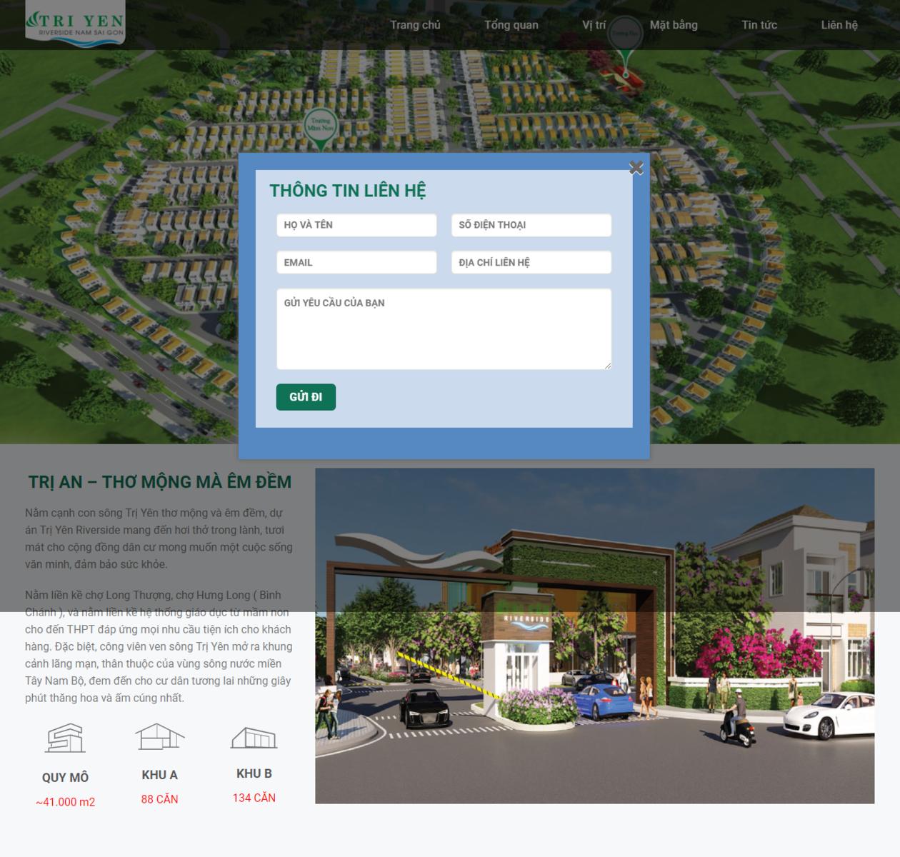 Mẫu web bất động sản 16 thumbnail
