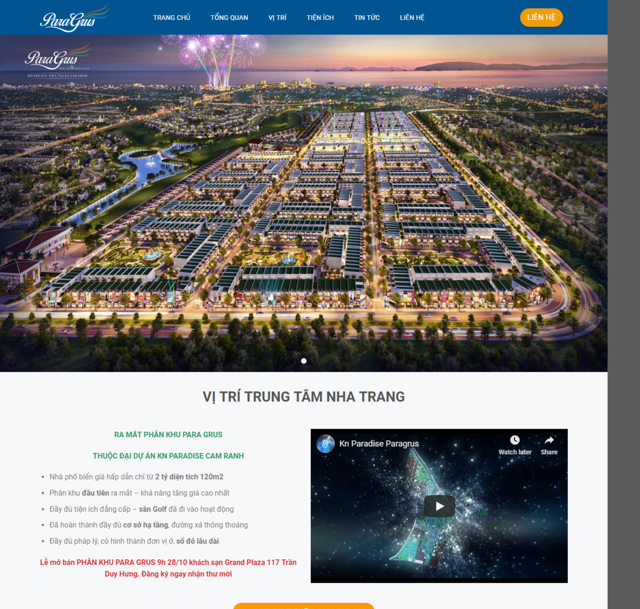 Thiết kế web BĐS Nha Trang thumbnail