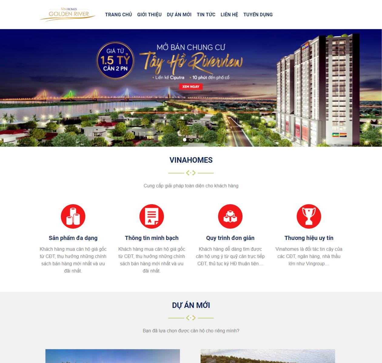 Mẫu web bất động sản 24 thumbnail